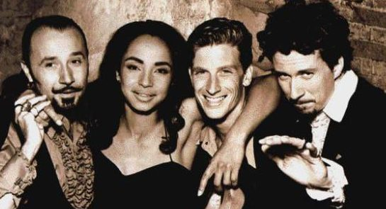 Sade with the band