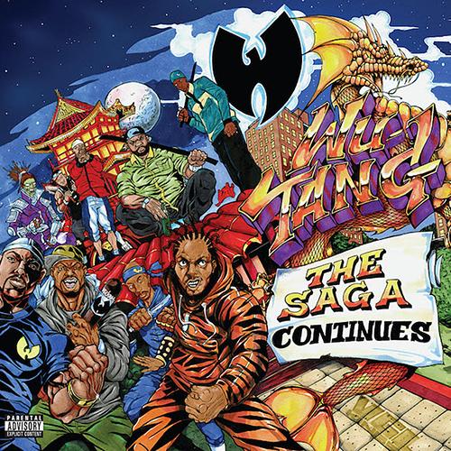 Wu-Tang Clan The Saga Continues album cover