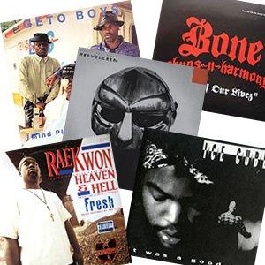 Bone Thugs-N-Harmony, MF DOOM, Ice Cube, Raekwon, Geto Boys