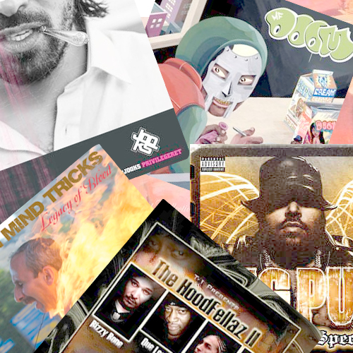 jooks, mf doom, big pun, jedi mind tricks, az, wu tang clan, nujabes